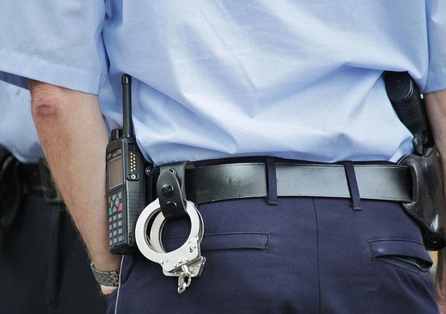 policejní uniformy