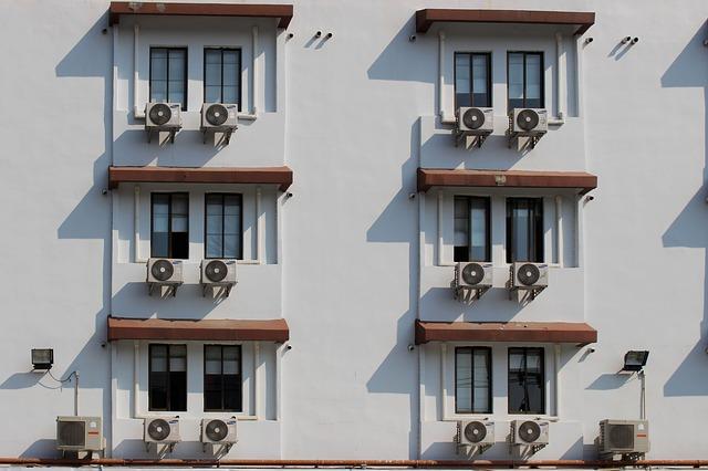 klimatizace na hotelu