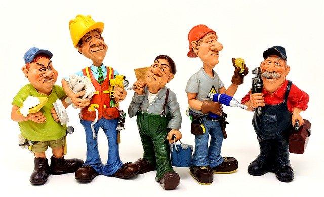 různí řemeslníci