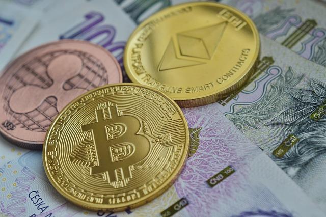 koruny a bitcoiny
